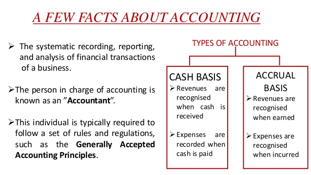 a comparison between cash accounting and People are quite puzzled when they are asked to tell the difference between accounting and finance that is why, they are not sure about the difference between the.