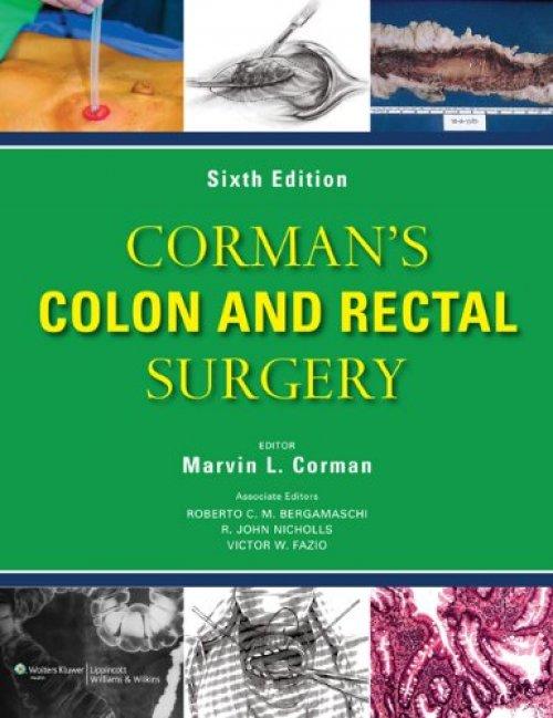 Corman Phẫu thuật Đại Trực tràng 6/e