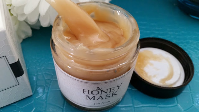 honey mask after its been stirred
