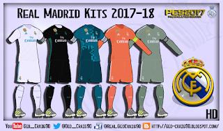 Update Kitpack 2017-18 Terbaru PES 2017