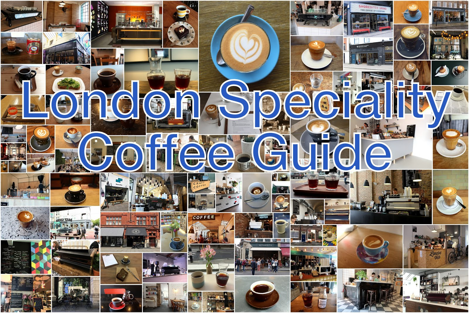 My Favourite London Speciality Coffee Shops