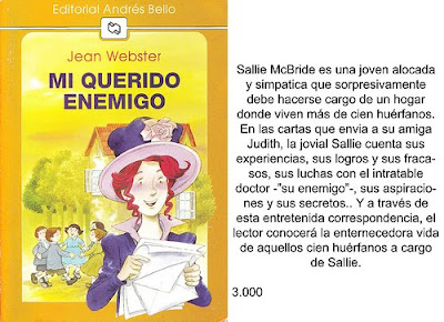 Mi Querido Enemigo Jean Webster Epub