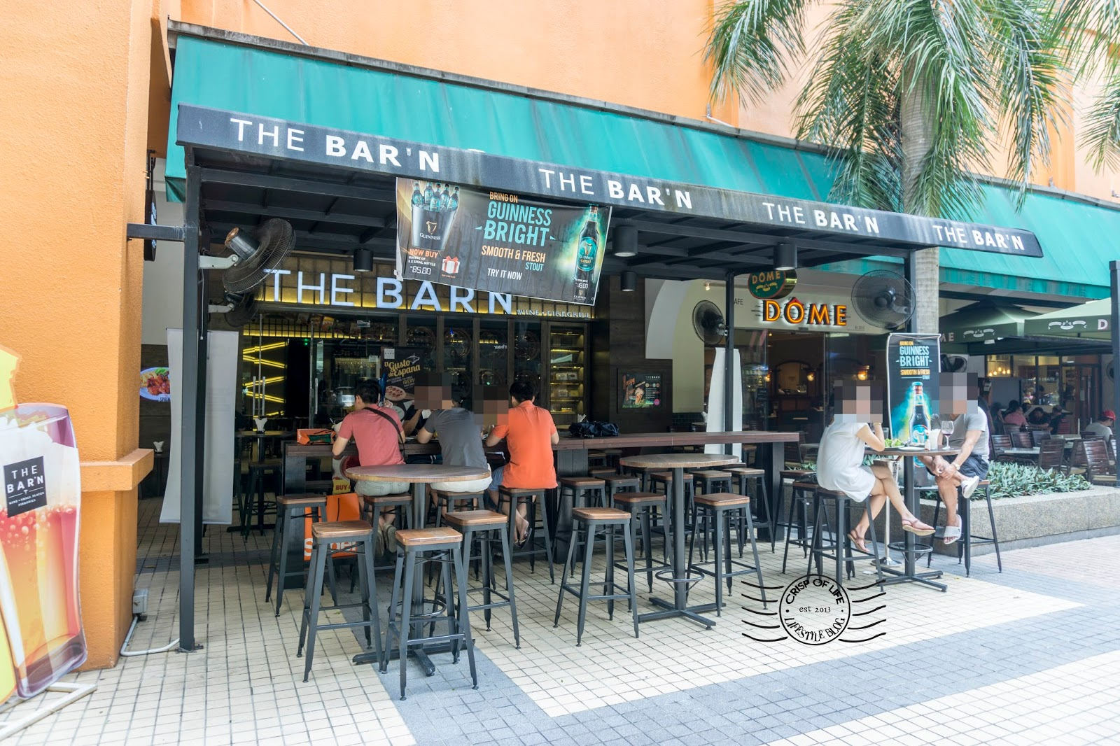 Drinking place in Penang the Barn Gurney Plaza
