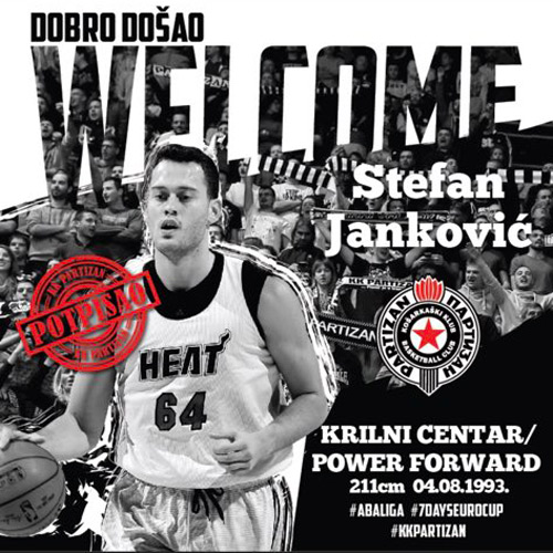 Stefan Janković potpisao za Partizan! (FOTO)