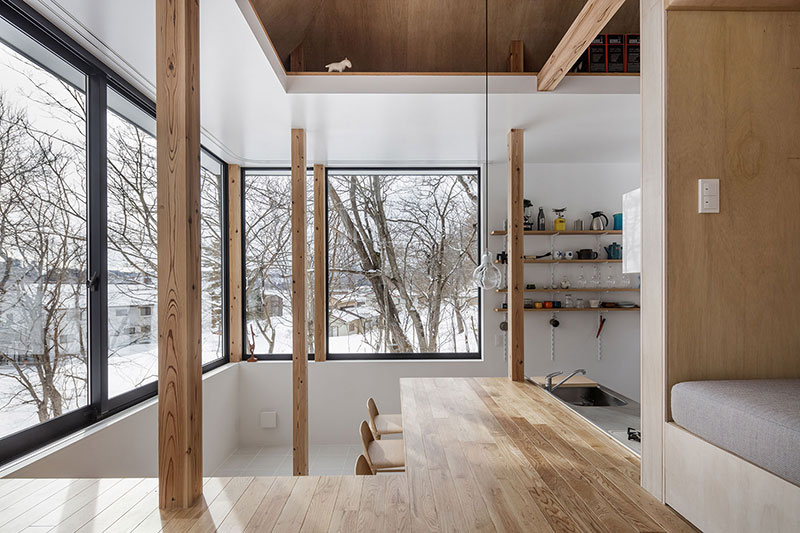 Sugawaradaisuke-10 Nojiri-ko Nature Platforms House by Sugawaradaisuke Design