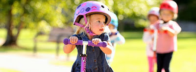 Why a scooter is great for your child's development