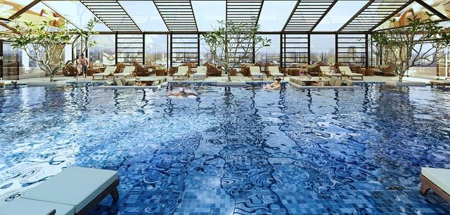 Khu bể bơi 4 mùa được thiết kế sang trọng tại Eurowindow River Park