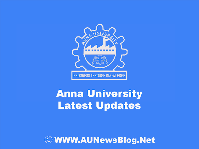 Anna University Special Exam August 2018 Last Date to apply Review