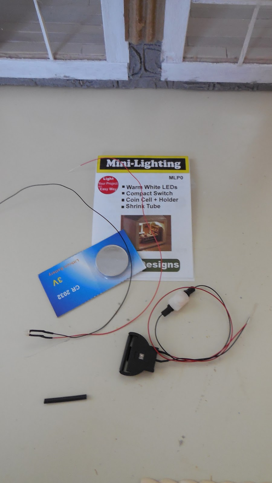 Cinderella Moments Little White Cottage Dollhouse Wiring Supplies I Use This Battery Operated Light Kit From Evan Designs Http Modeltrainsoftwarecom Mihtml They Are A Fabulous Company To Order