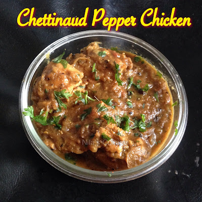 Pepper Chicken Chettinaud