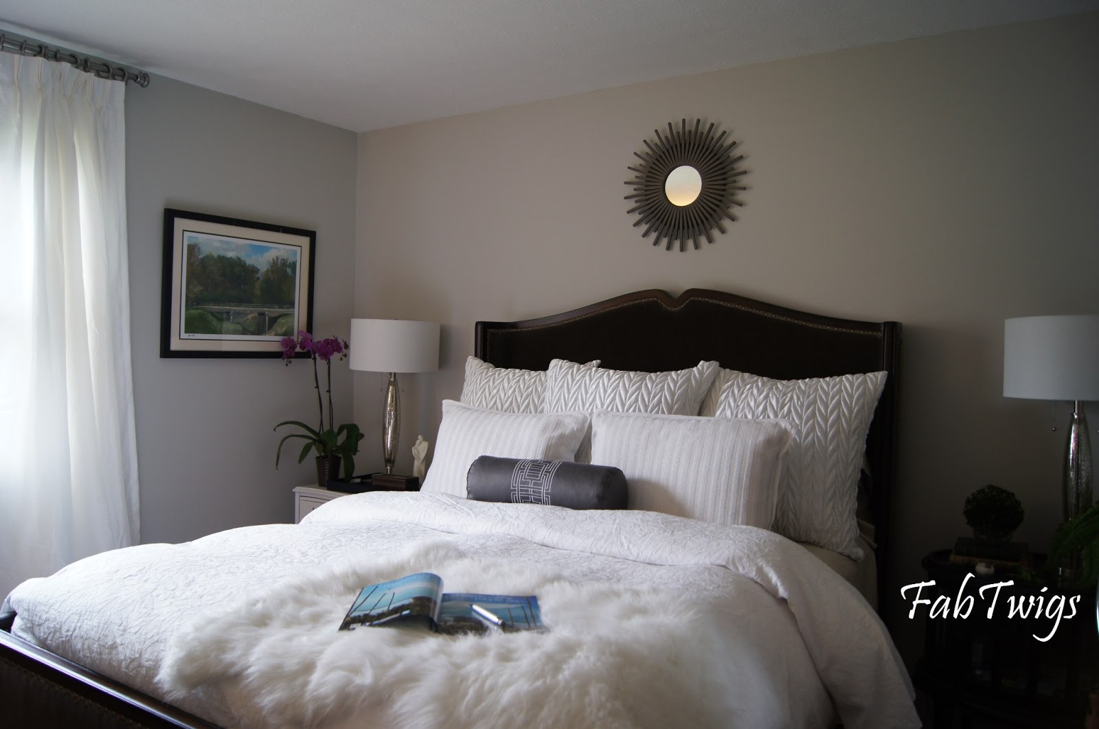 FabTwigs: It has been a while... Gray Master Bedroom is ...
