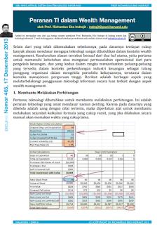 Peranan TI dalam Wealth Management