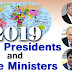 List of World Presidents & Prime Ministers 2019