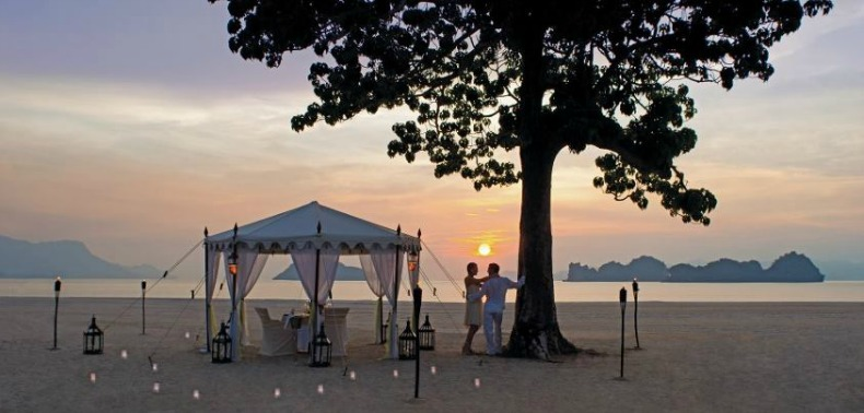 Romantic coastal spot to enjoy