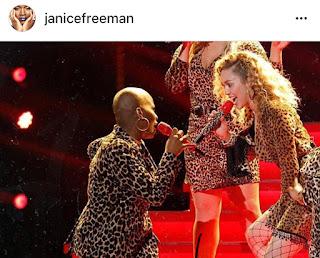 Janice Freeman Miley Cyrus