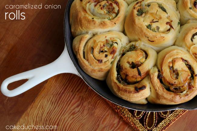 Caramelized Vidalia Onion Rolls