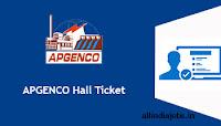APGENCO Hall Ticket