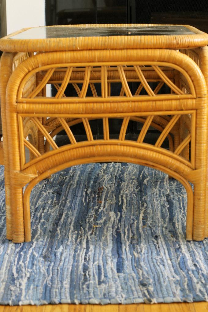Painting Rattan U0026 Bamboo Furniture