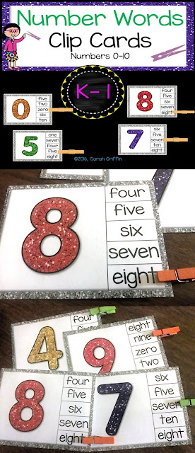 https://www.teacherspayteachers.com/Product/Math-Sight-Word-Clip-Cards-Number-Words-2728525