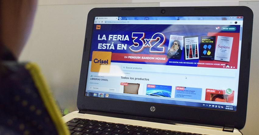 FIL LIMA 2020: Librerías Crisol extiende promoción de libros a nivel nacional