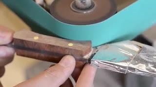 membuat sendiri pisau kiridashi jepang