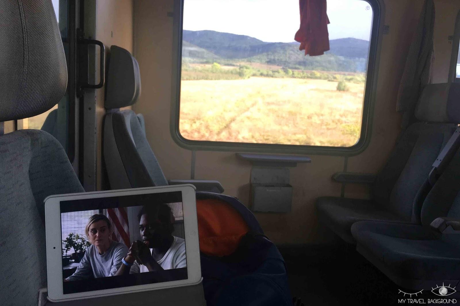 My Travel Background : traverser l'Europe en train : mon expérience du pass interrail (+ les réponses à vous questions) - Occupation dans le train, entre la Serbie et la Bulgarie