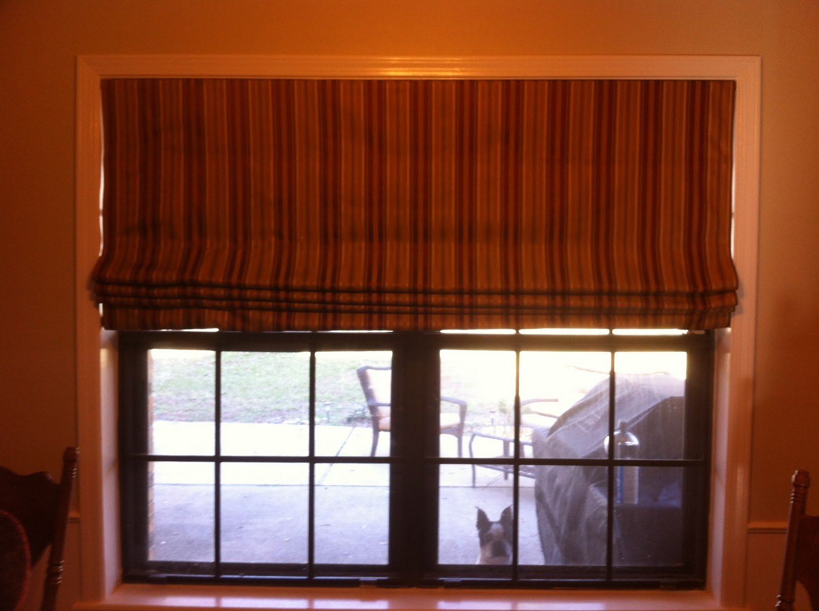 Snazzy Strawberry Blonde Diy No Sew Roman Shades From