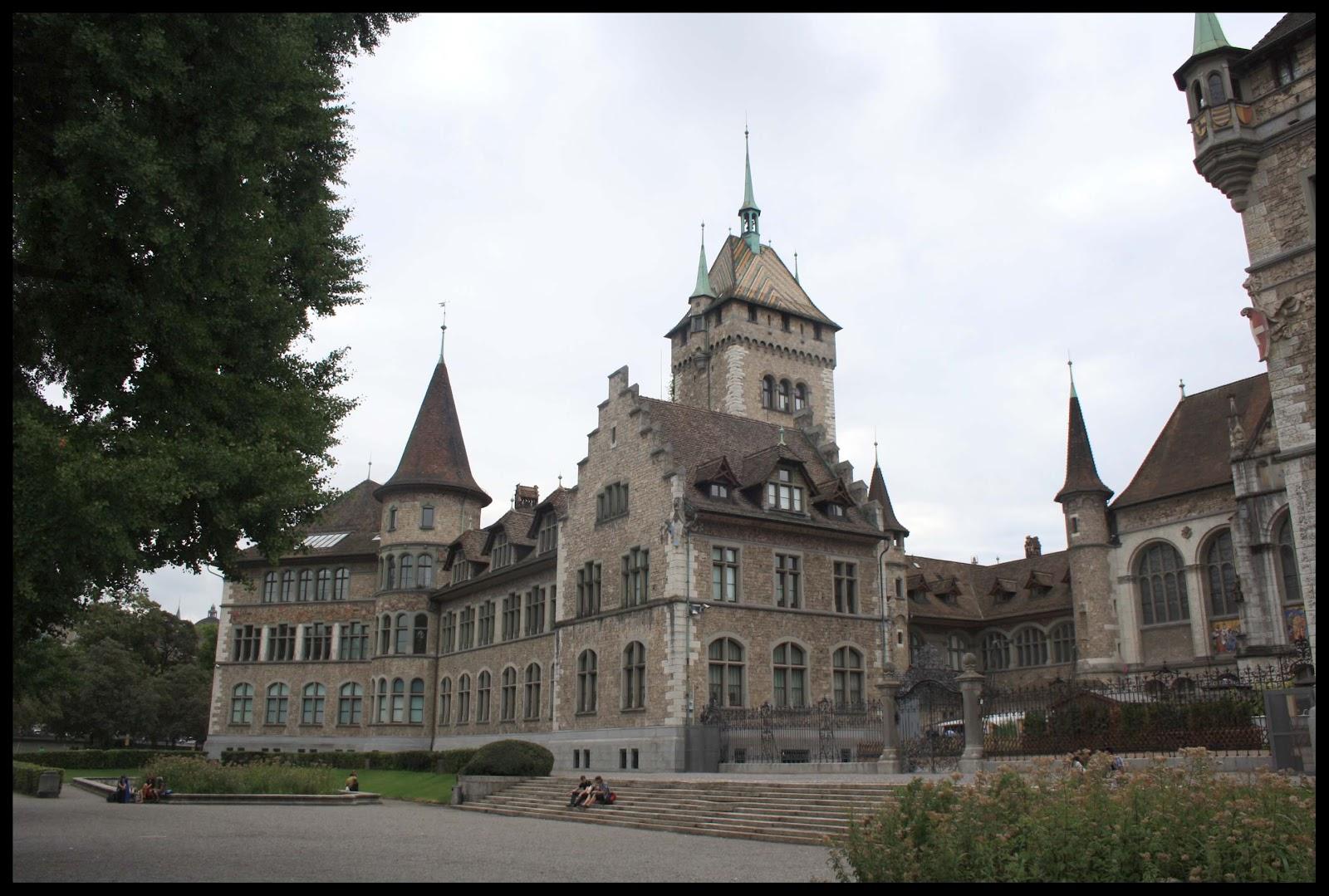 Museo Nacional De Zurich Landesmuseum Suiza Volando Voy Viajes