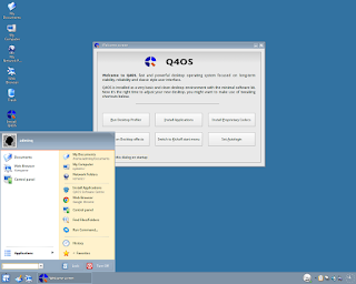 Q4OS KDE 3 Trinity Desktop Screenshot