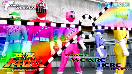 Ressha Sentai ToQger Episode 2 Review: We Are All Here!