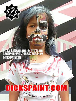 face painting clawn jakarta