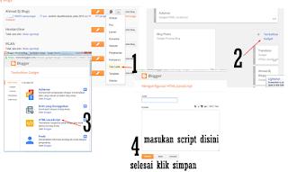 Ahmad Bj Blogs | cara membuat logo BLOGGER INDONESIA pada sisi blog