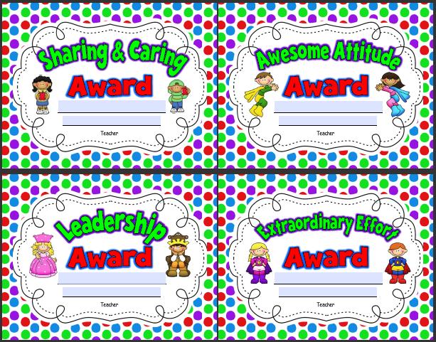 http://www.teachingoasis.com/Classroom%20Awards.pdf