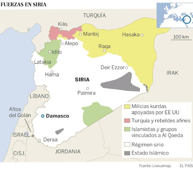 Negociando la paz en Siria