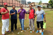 Lurah Kali Anyar Daniel Azka Alfaro Buka Turnamen Futsal Festival Olahraga
