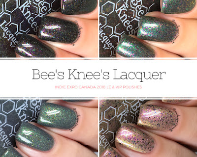 Bee's Knees Lacquer Indie Expo Canada 2018