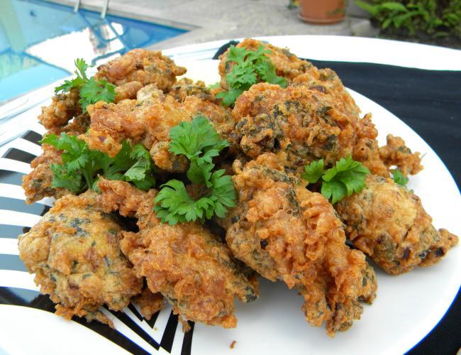 Fried Parsley Omelets (Parsley Ejji)
