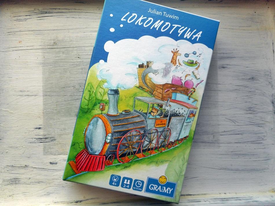 Blog Książkowy Dla Dzieci I Dorosłych Gra Lokomotywa Graimy