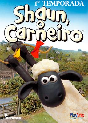 Série Shaun O Carneiro 1ª Temporada DVD Capa
