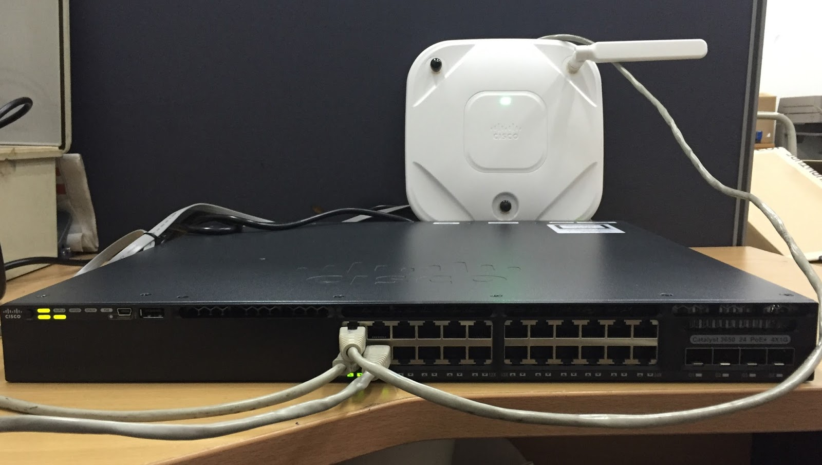 My CCNA Wireless Journal: Configuring Cisco 3650/3850