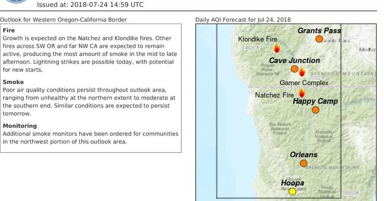 oregon smoke information smoke outlook for western oregon