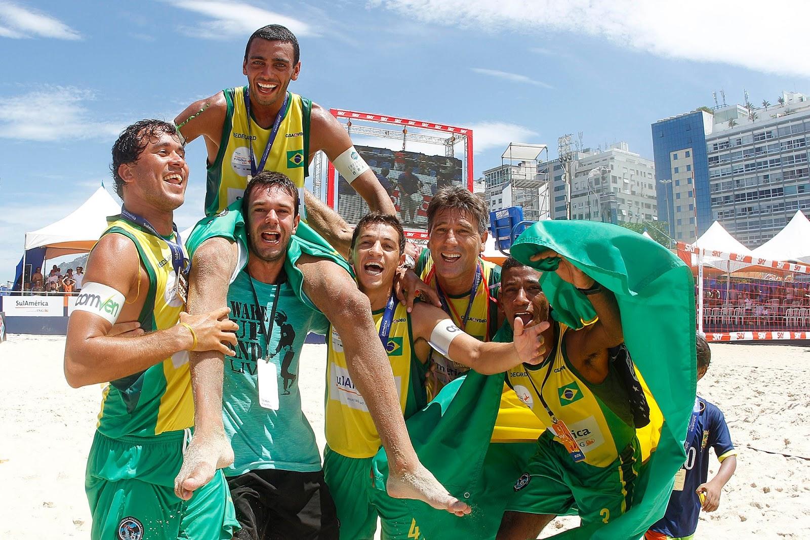 Brasil é bicampeão do Mundialito de Futevôlei 4x4 e5eb8fcf084f4