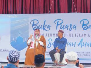 Buka Puasa Bersama Faris Ruhul Islam Anak Bangsa