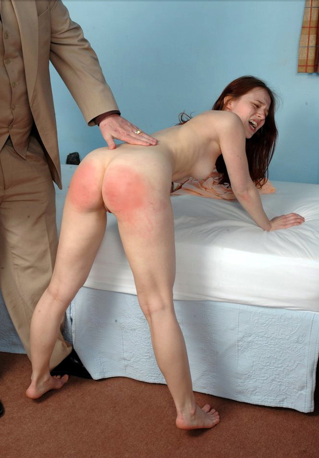 crying spanking captions - Friday's Scream Queen