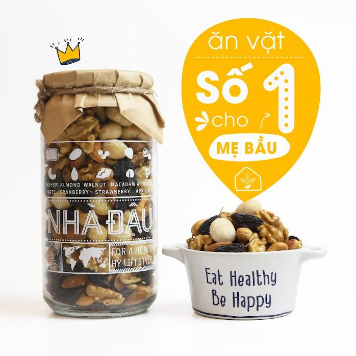 Mixnuts 5 loại hạt giúp Mẹ Bầu hết mệt mỏi