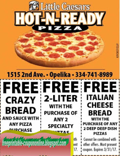 Free Printable Little Caesars Coupons