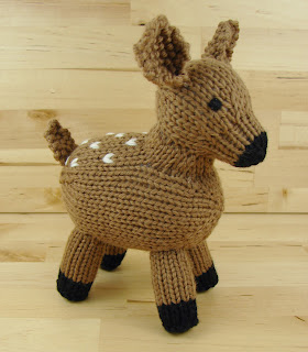 fawn, toy, knitting, stuffed, animal