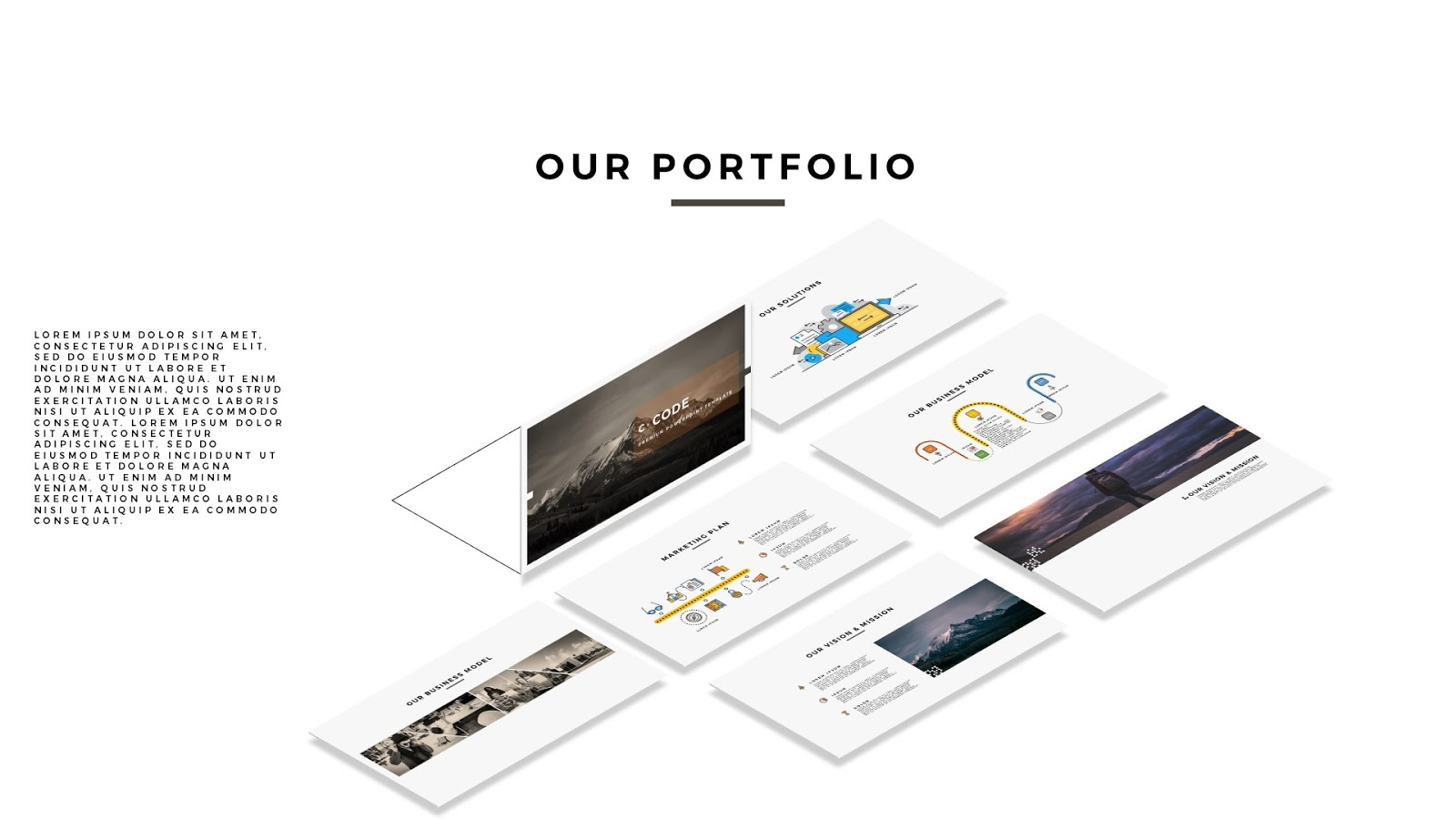 Free Professional Business Multi Purpose Powerpoint