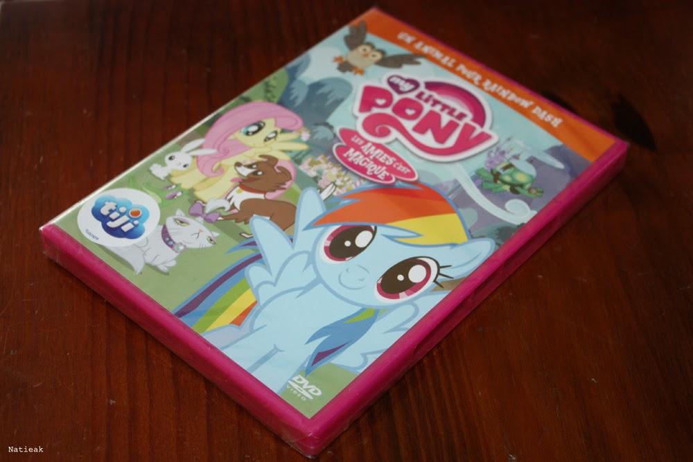 """DVD My Little Pony """"Les amies c'est magique"""""""