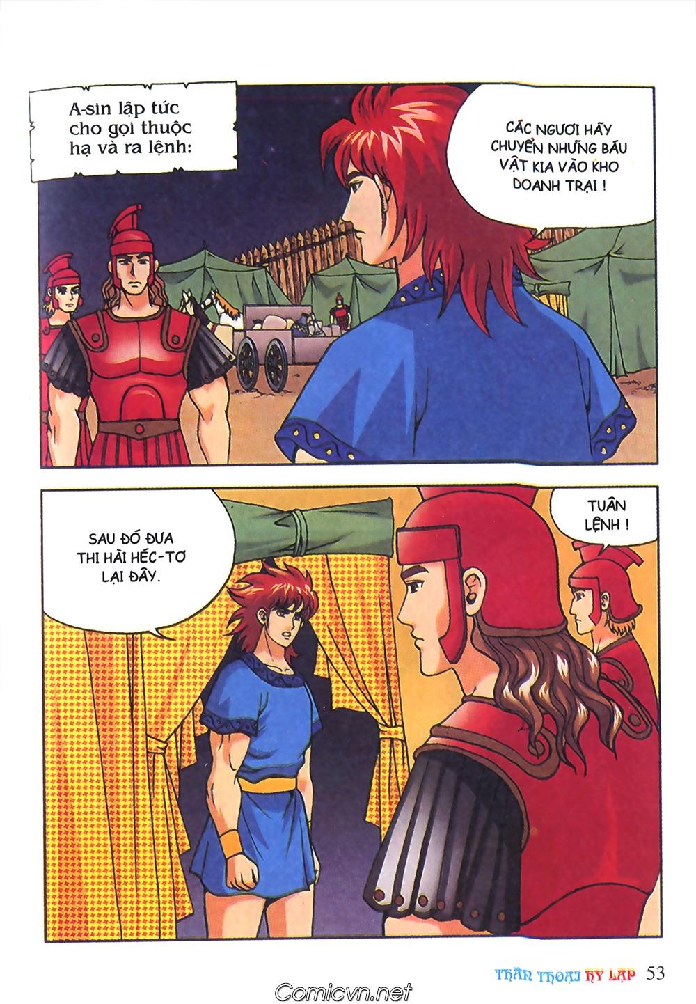 Thần Thoại Hy Lạp Màu - Chapter 63: Lão vương Pri am chuộc xác con - Pic 27